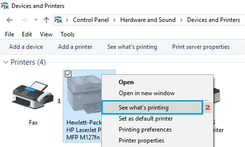 How to Fix Printer Offline Issue Step 3