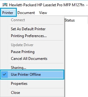 How to Fix Printer Offline Issue Step 4